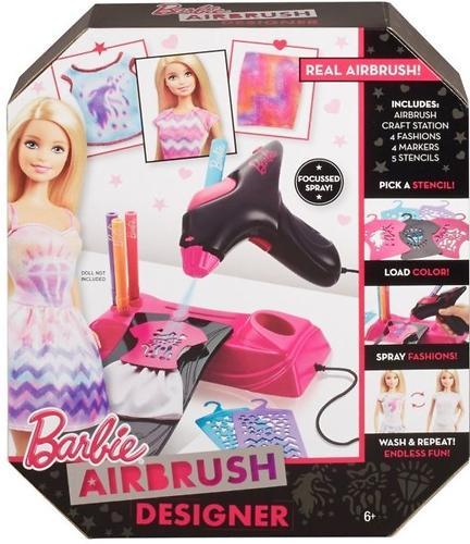 Игровой набор Barbie Дизайнер-аэрограф (13)