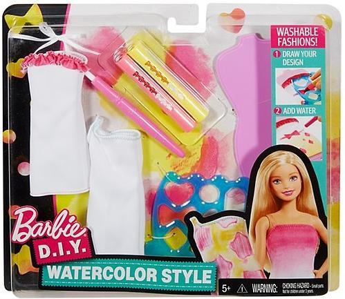Игровой набор Barbie Акварельный Стиль DWK51 (6)