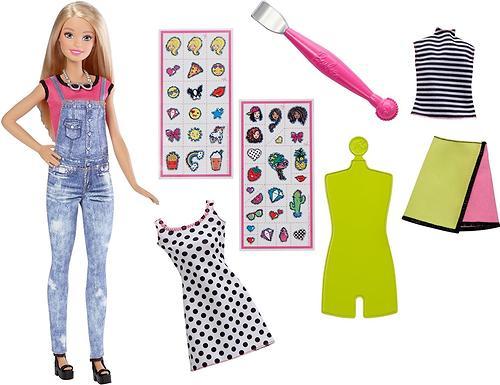 Игровой набор Barbie BRB.Модный мир Эмоджи Блондинка (7)