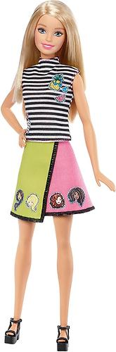 Игровой набор Barbie BRB.Модный мир Эмоджи Блондинка (8)