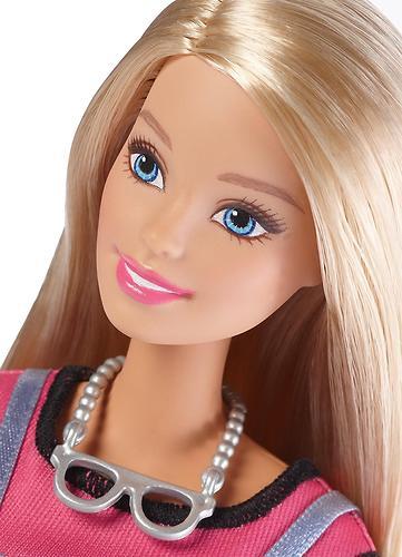 Игровой набор Barbie BRB.Модный мир Эмоджи Блондинка (9)