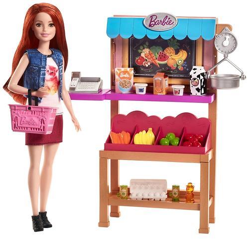 Игровой набор Barbie Продуктовая лавка (7)