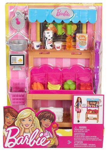 Игровой набор Barbie Продуктовая лавка (8)