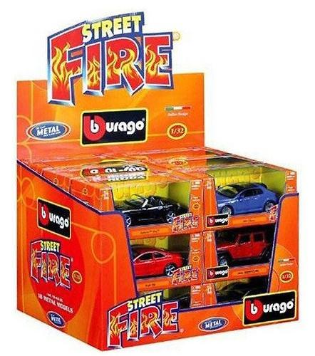 Street Fire Bburago Dispenser в ассортименте (1)