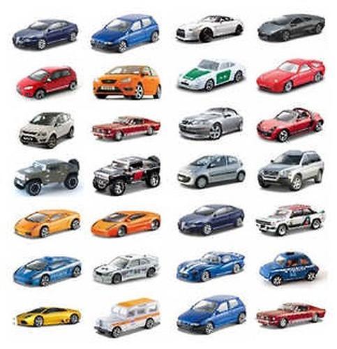 Машинки BBurago 18-30000 (4)