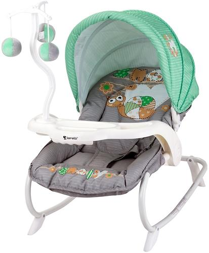 Стульчик-качалка Bertoni Dream Time Green-Grey Snail 1708 (1)