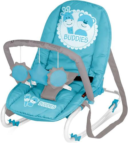 Стульчик-качалка Bertoni Top Relax Blue Buddies 1527 (3)