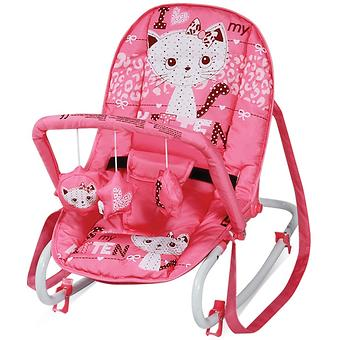 Стульчик-качалка Bertoni Top Relax Pink Kitten 1612 - Minim