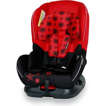 Автокресло Bertoni Concord 0-18 кг Black/Red Stars 1760 - Minim