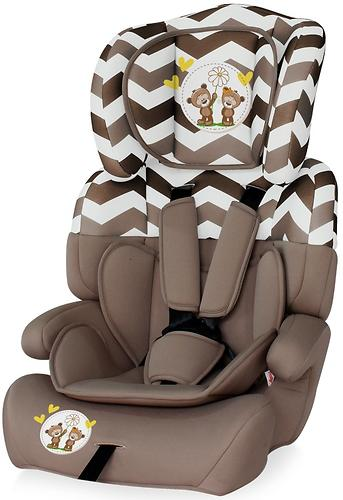 Автокресло Bertoni Junior Plus 9-36 кг Beige Daisy Bears 1730 (1)