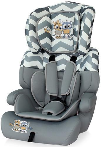 Автокресло Bertoni Junior Plus 9-36 кг Grey Baby Owls 1736 (1)