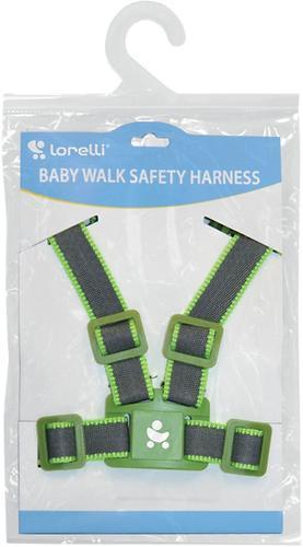 Вожжи Baby Walk Safety Harness Grey Green 1252 (1)