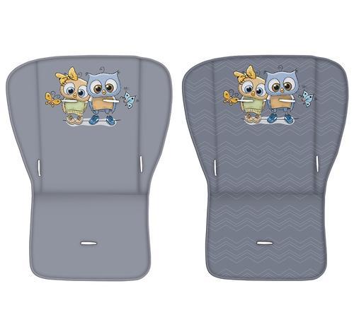 Коляска Bertoni APOLLO + сумка для мамы Grey Baby Owls 1729 (7)