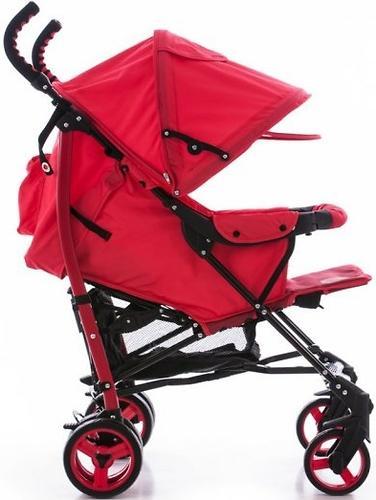 Коляска Bambini Shuttle + накидка на ножки Red Strawberry (8)