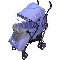 Коляска Bambini Shuttle + накидка на ножки Violet Butterfly