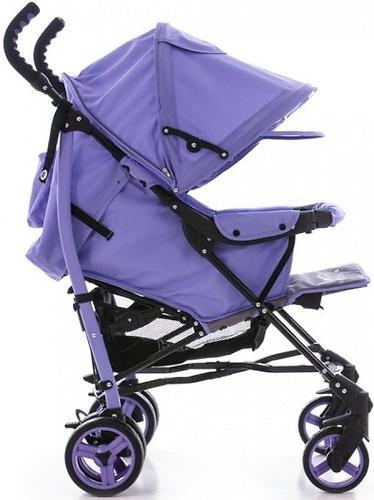 Коляска Bambini Shuttle + накидка на ножки Violet Butterfly (8)