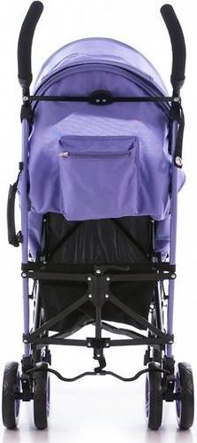 Коляска Bambini Shuttle + накидка на ножки Violet Butterfly (9)