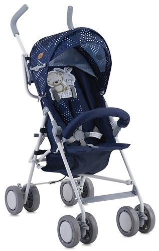 Коляска Lorelli TREK Dark Blue Friends 1712 (3)