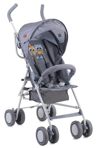 Коляска Lorelli TREK Grey Baby Owls 1729 (3)