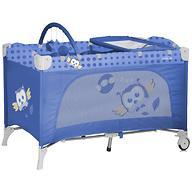 Кровать-манеж Bertoni Travel Kid 2 Blue Baby Owls 1418