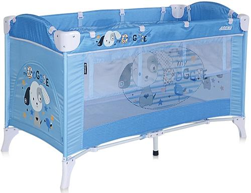 Кровать-манеж Bertoni Arena 2 Blue Doggie 1626 (1)