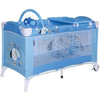 Кровать-манеж Bertoni Arena 2 Plus Blue Doggie 1626 - Minim