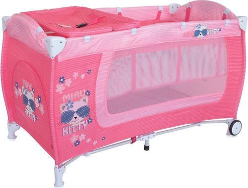 Манеж Bertoni Danny 2 Pink Kitty 1723 (1)