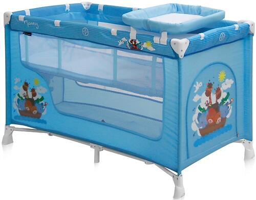 Кровать-манеж Bertoni Nanny 2 Blue Adventure 1610 (3)