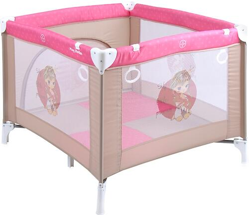 Манеж Bertoni Play Station Biege Rose Princess 1703 (1)
