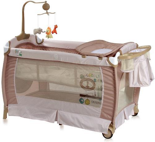 Кровать-манеж Bertoni Sleep N Dream 2 Layers Plus Biege 1601 (1)