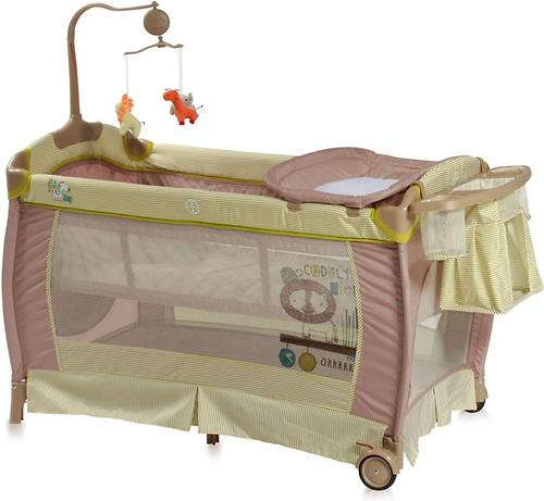 Кровать-манеж Bertoni Sleep N Dream 2 Layers Plus Green 1602 (1)