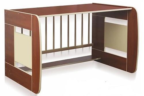 Кроватка-трансформер Glamvers Multy Vip Яблоня-локарно (12)