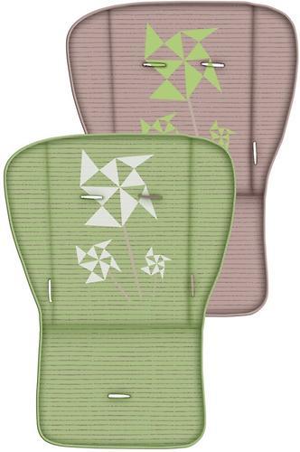 Коляска Bertoni Combi + сумка для мамы Green-Beige Zephyr 1650 (9)