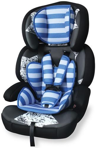 Автокресло Bertoni Junior Premium Black-Blue Stars 1679 (1)