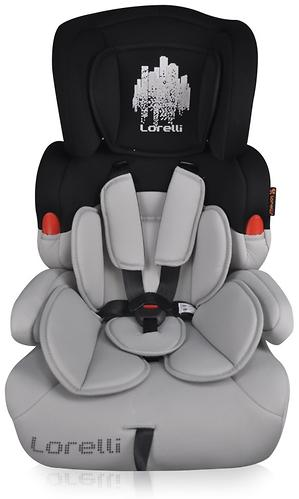 Автокресло Bertoni Kiddy 9-36 кг Black-Gray Skyline 1669 (1)