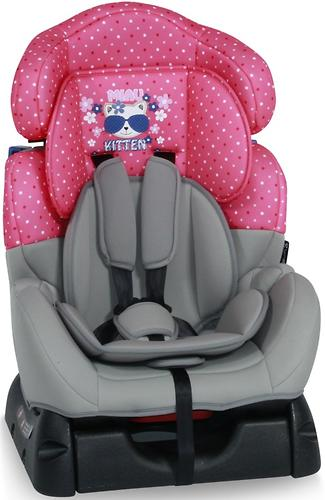 Автокресло Bertoni Safeguard 0-25 кг Pink Kitty 1723 (1)