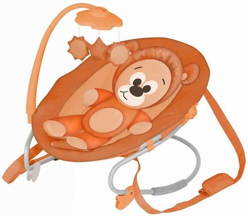Шезлонг Bertoni Joy Orange Bear 1341 (1)