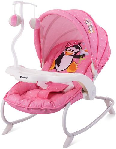 Стульчик-качалка Bertoni Dream Time Pink Penguin 1620 (1)