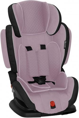 Автокресло Bertoni Magic Premium 9-36 кг Gray& Pink 1557 (3)