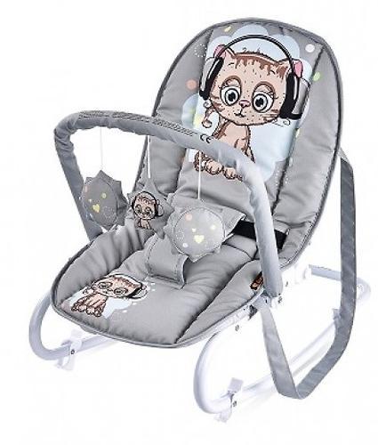 Стульчик-качалка Bertoni Top Relax Grey Cute Kitten 1805 (3)