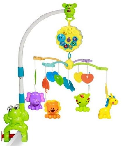 Музыкальная карусель на кроватку Lorelli Toys Лягушонок (1)