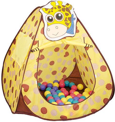 Домик Bony Жираф с шариками 100x100x100 см (3)