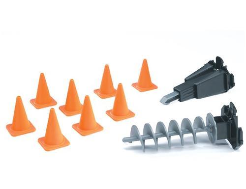 Bruder набор инструментов и знаков для дорожных работ Аксессуары G: (1)