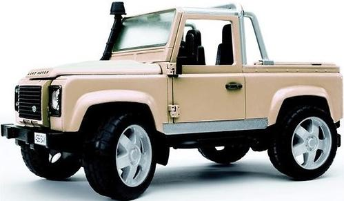 Bruder внедорожник-пикап Land Rover Defender (4)