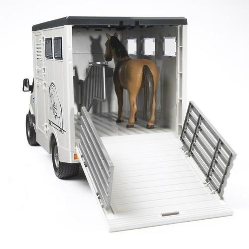 Bruder фургон с лошадью MB Sprinter (7)