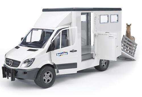 Bruder фургон с лошадью MB Sprinter (5)