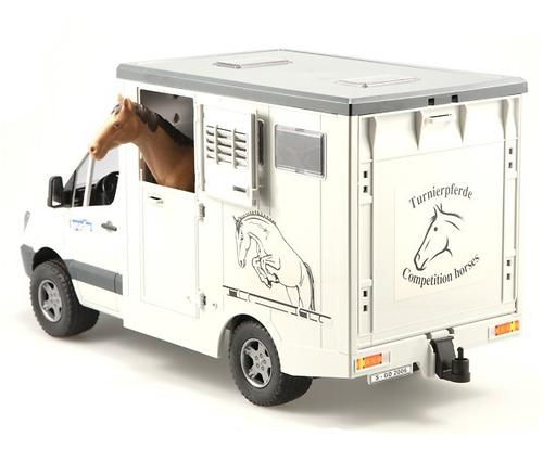 Bruder фургон с лошадью MB Sprinter (6)
