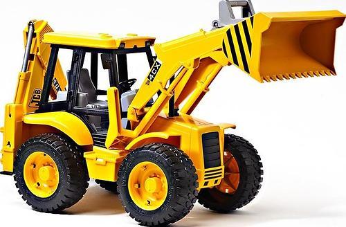 Bruder Экскаватор-погрузчик колёсный JCB 4CX (5)