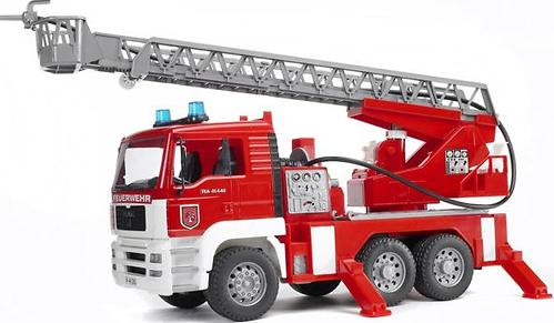 Bruder Пожарная машина MAN с лестницей (8)