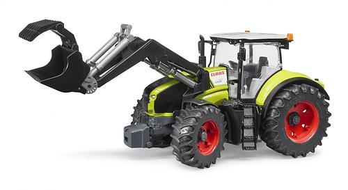 Трактор Bruder Claas Axion 950 c погрузчиком (6)
